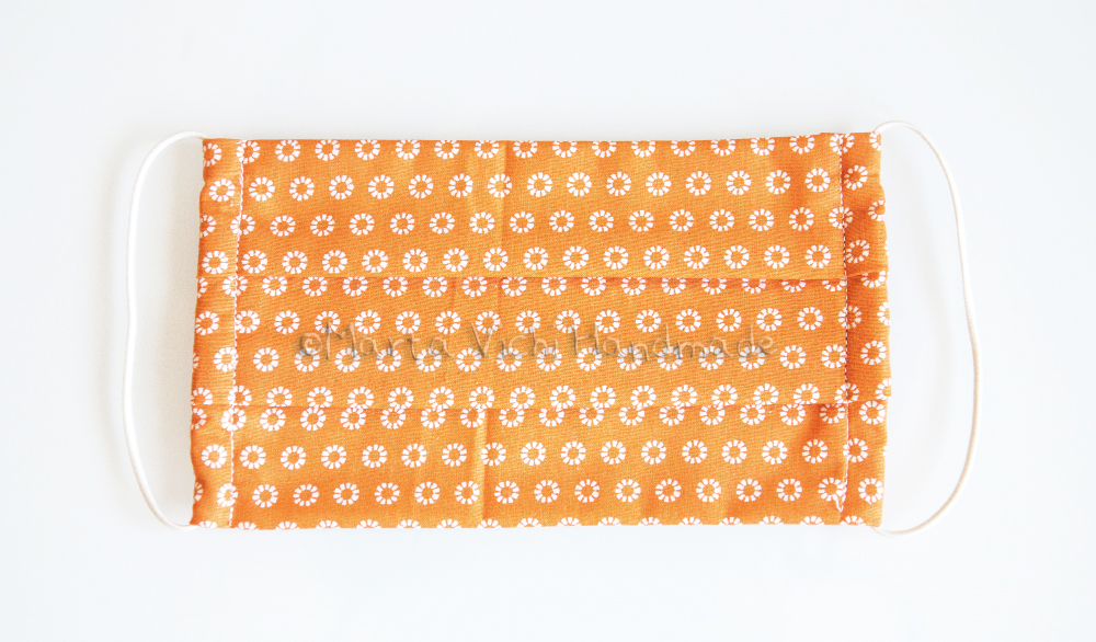 Mascherina I arancione